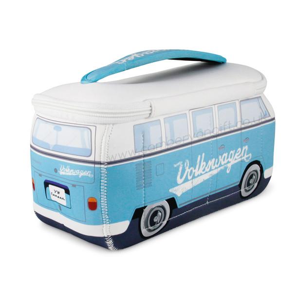 VW Turquoise Campervan Universal Neoprene Wash Bag