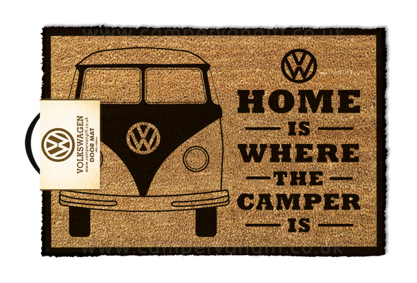 VW Home is Where the Campervan is Doormat