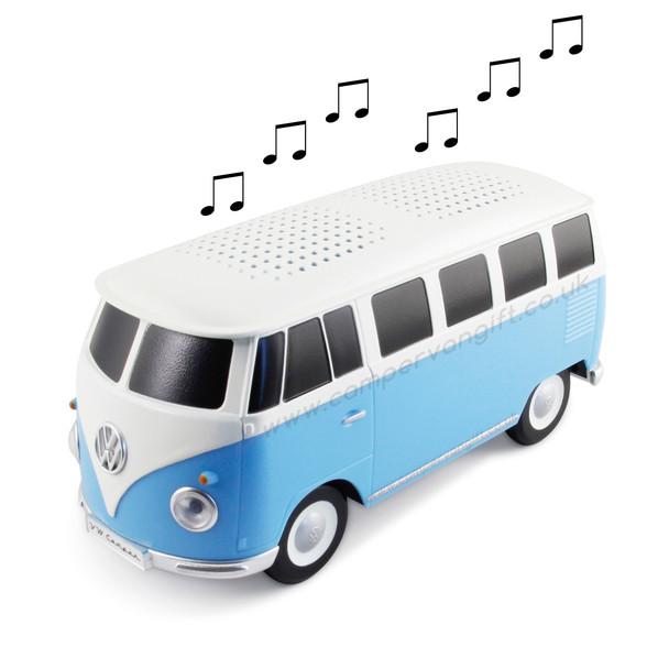Volkswagen Campervan Bluetooth Speaker - Blue