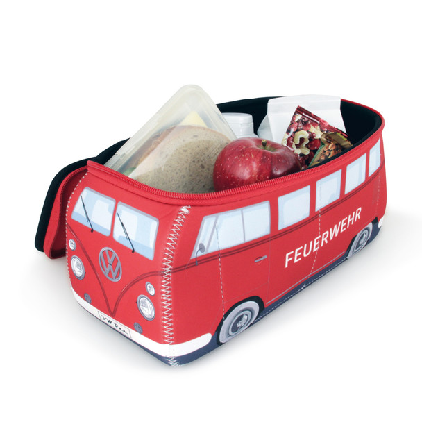 VW Fire Engine Campervan Universal Neoprene Wash Bag