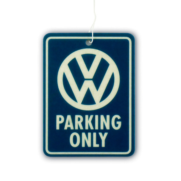 VW Parking Only Air Freshener - Fresh