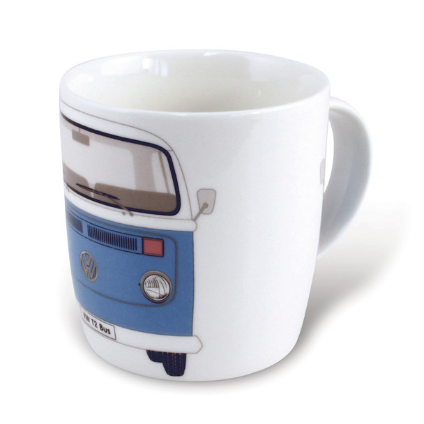 Bay Window VW Campervan Blue Mug