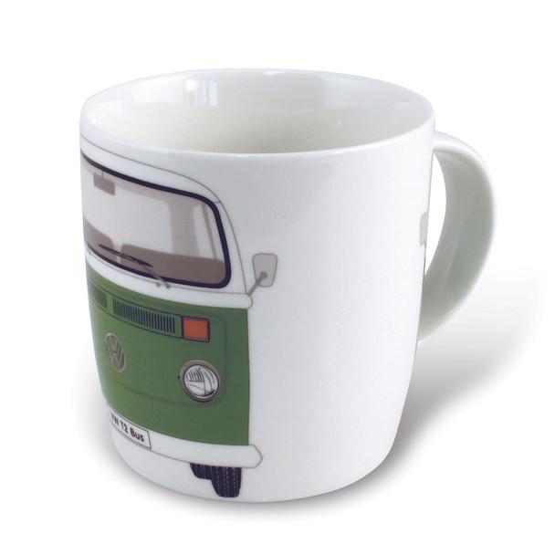 Bay Window VW Campervan Green Mug