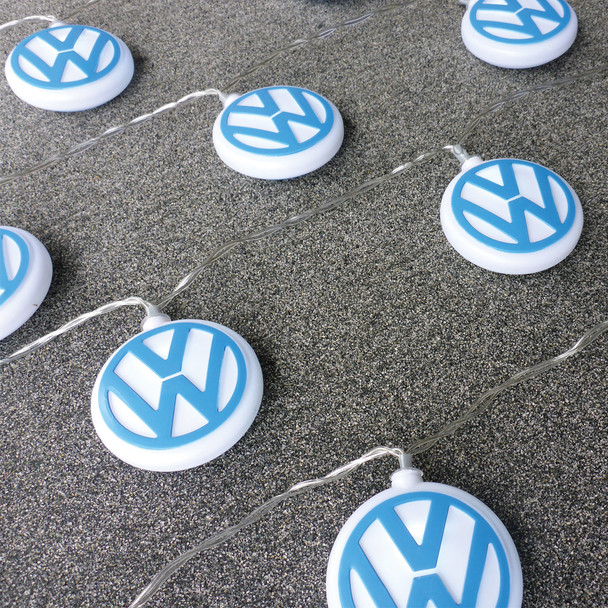 Volkswagen 3D VW Logo LED Fairy Lights