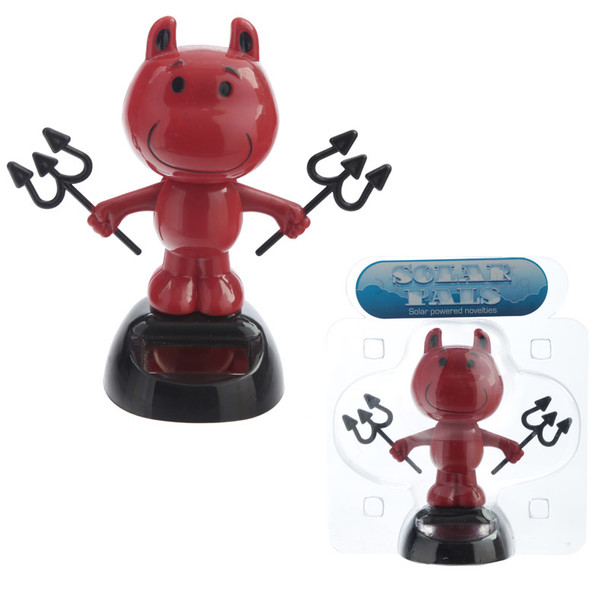 Solar Powered Dancing Devil