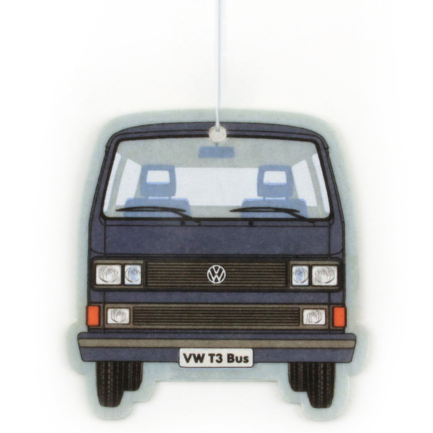 VW T25 Campervan Air Freshener - Fresh Blue