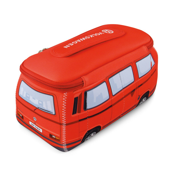 VW Red T25 Campervan Universal Neoprene Wash Bag
