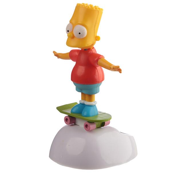 Solar Powered Dancing Bart Simpson