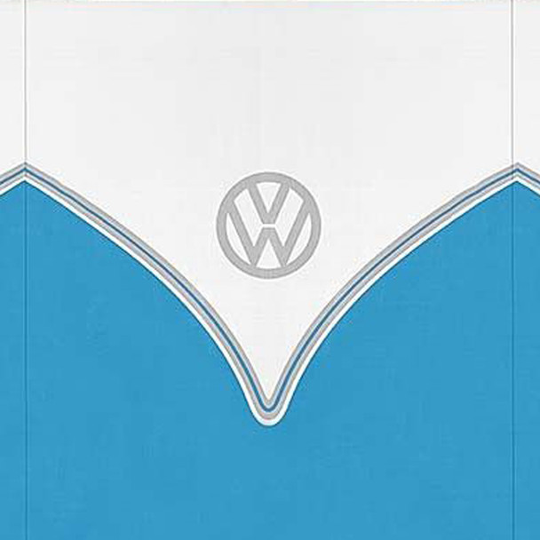 Volkswagen Blue Campervan 5 Pole Windbreak