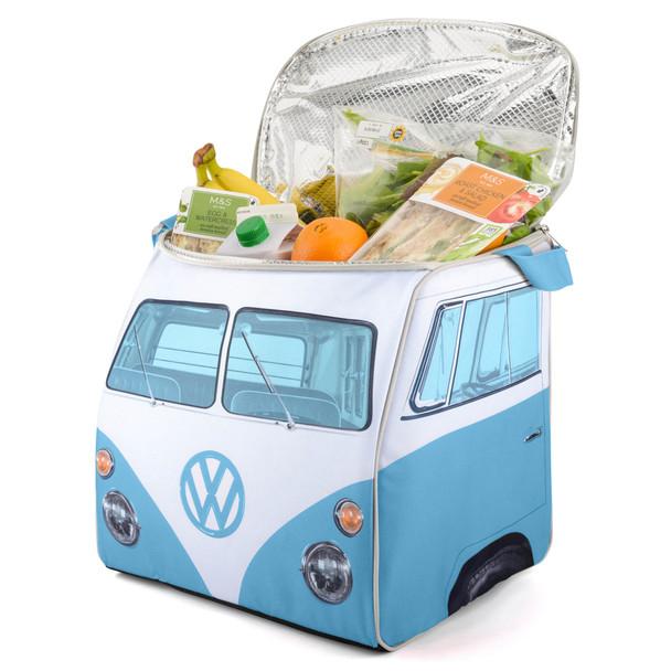 Volkswagen Campervan Blue Large Cool Bag