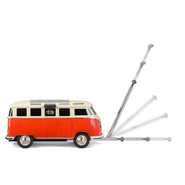 Volkswagen Campervan Pull Along Cooler Box - Retractable Pull Handle