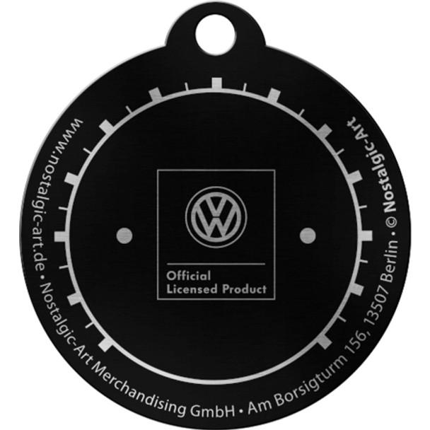 Volkswagen Campervan Tacho Metal Round Key Ring