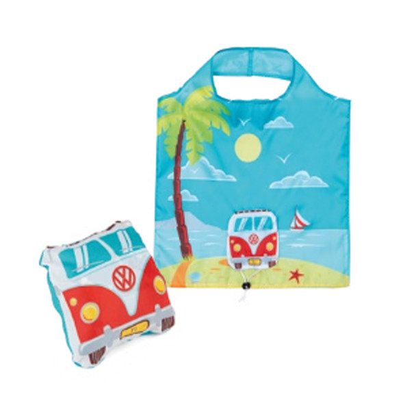 Volkswagen Campervan Foldable Beach Shopper Bag