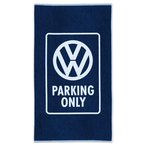 Volkswagen Campervan Parking Only Beach Towel