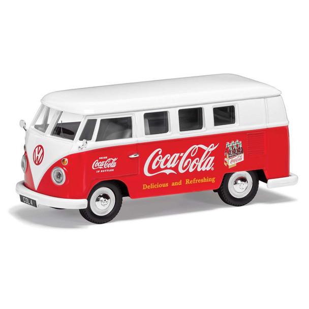 Volkswagen Corgi Diecast Coca Cola Campervan Early 1960's