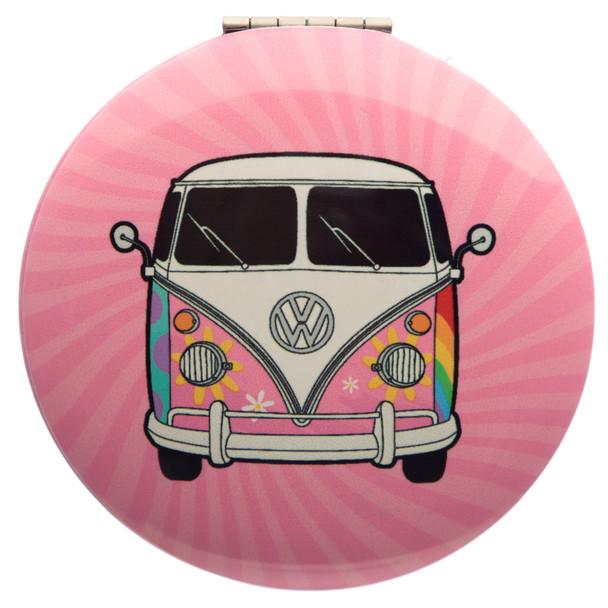 Volkswagen Campervan Summer Love Compact Mirror