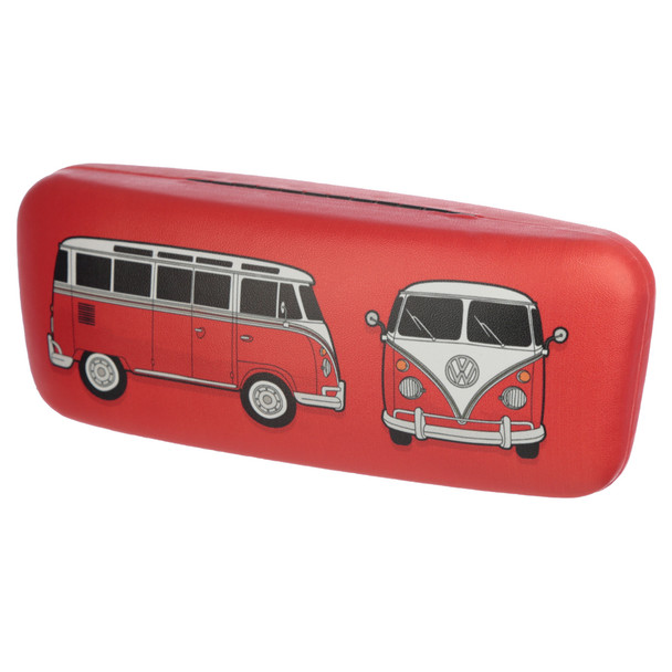 Volkswagen Red Campervan Sunglasses Case