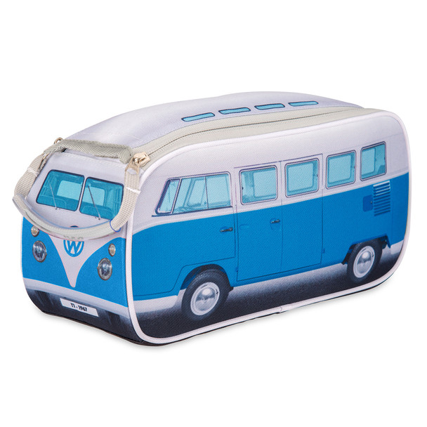 Official Volkswagen Campervan Toiletry Wash Bag - Blue