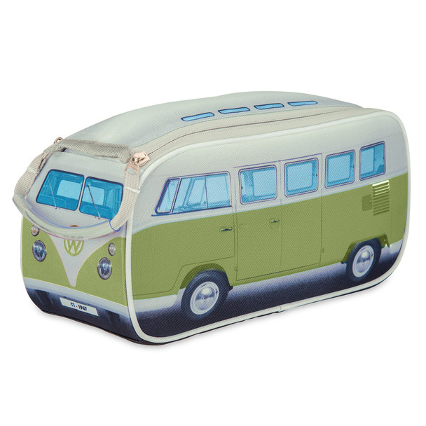 Official Volkswagen Campervan Toiletry Wash Bag - Mango Green