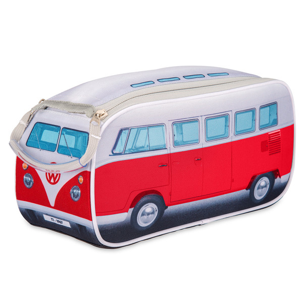 Official Volkswagen Campervan Toiletry Wash Bag - Red