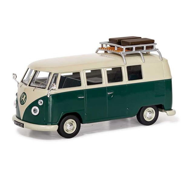 Volkswagen Corgi Diecast Type 2 Green Devon Caravette Campervan