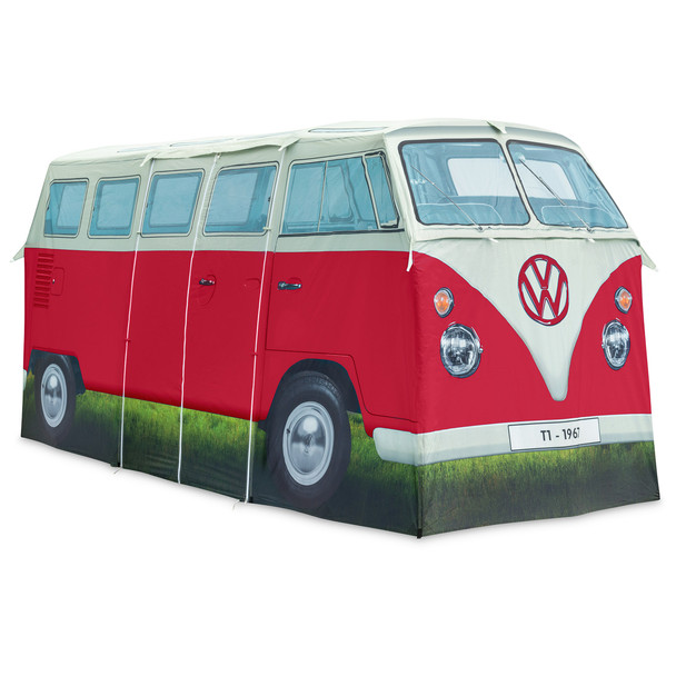 Volkswagen Campervan 4 Man Adult Tent - Red