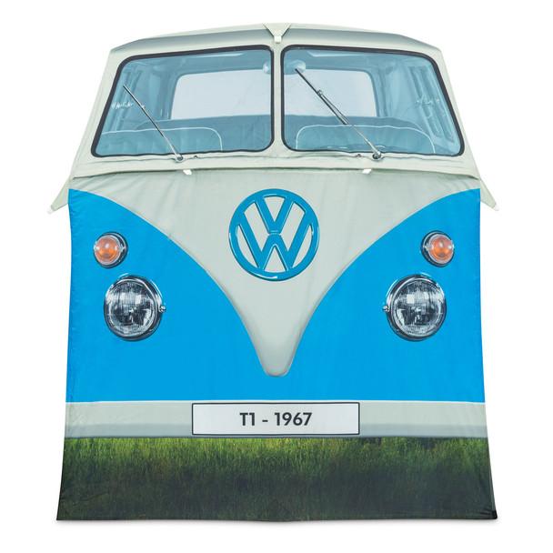 Volkswagen Campervan 4 Man Adult Tent - Blue Front