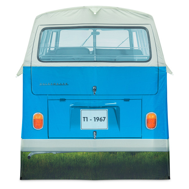 Volkswagen Campervan 4 Man Adult Tent - Blue Rear