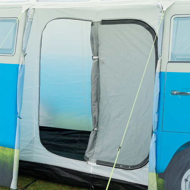 Volkswagen Campervan 4 Man Adult Tent - Side Door
