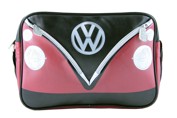 Official VW Retro Black and Red Splitscreen Design Bag.
