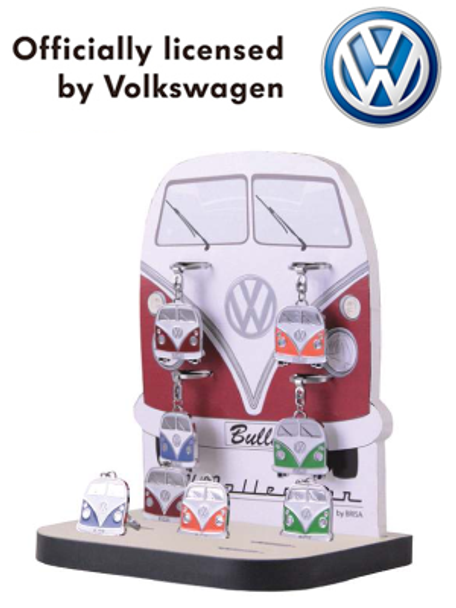 Official VW Collectors Campervan Keyring.