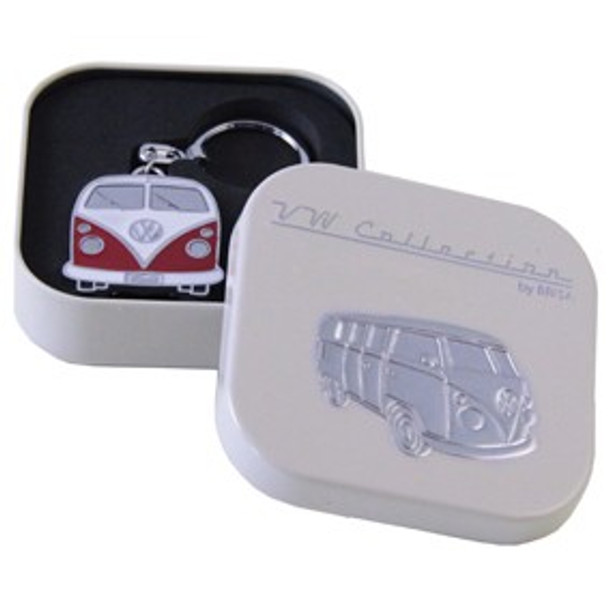 Official VW Collectors Red Keyring in Cream Presentation Tin.