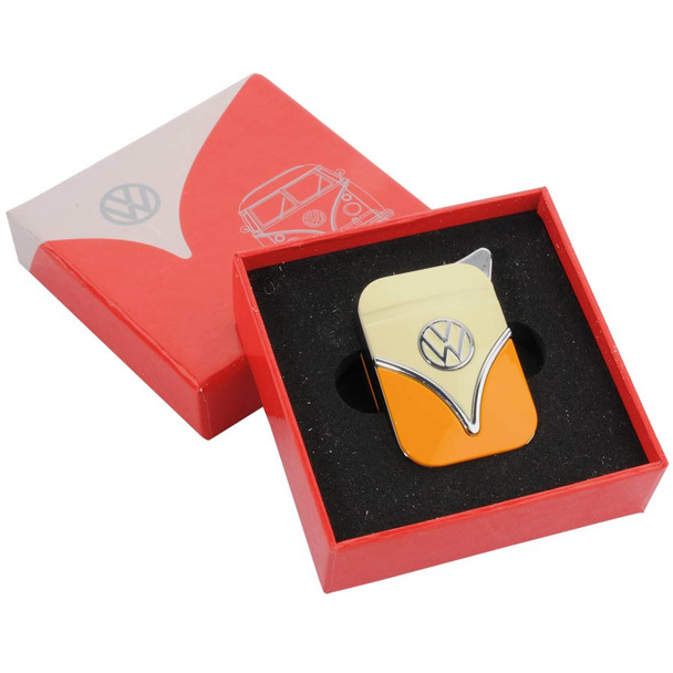 Orange and Cream Official VW Lighter in the Red Presentation box