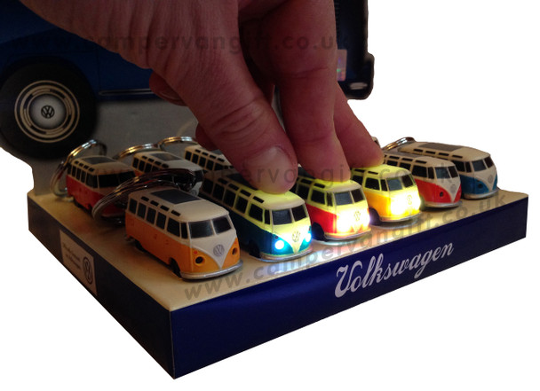 Official VW Campervan Torch Key Ring