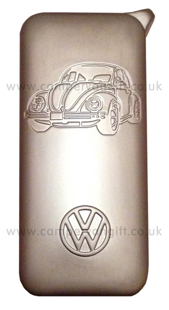 Official Silver VW Beetle Lighter - Front
