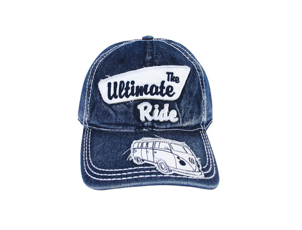 Official VW The Ultimate Ride Campervan Cap - Blue