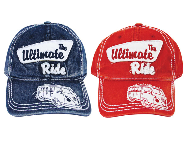 Official VW The Ultimate Ride Campervan Baseball Caps