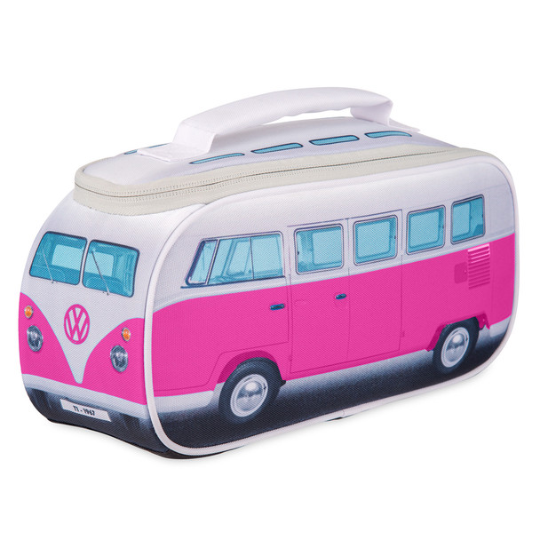 Official Volkswagen Campervan Lunch Bag - Pink
