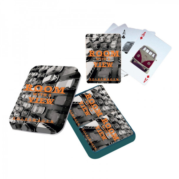 Volkswagen Room With A View Playing Cards Tin Set