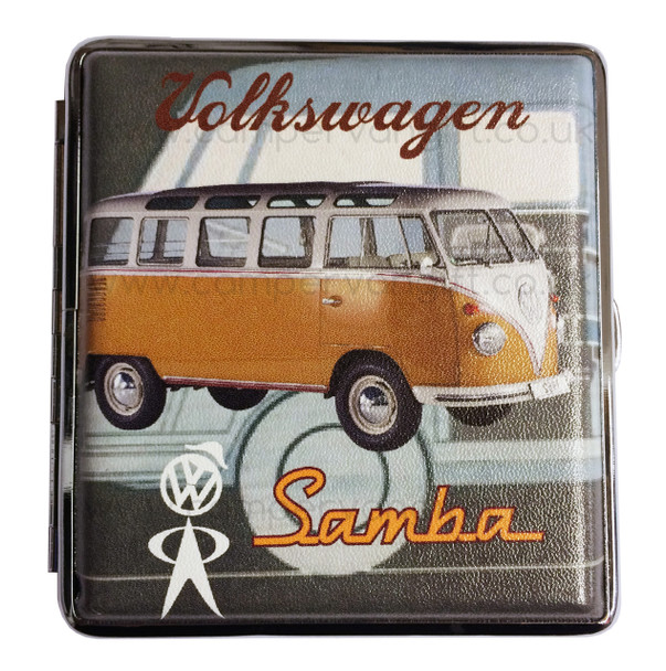 Official VW Vintage Campervan Cigarette Case - Orange
