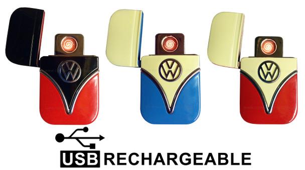 Official VW Campervan USB Rechargeable Lighter