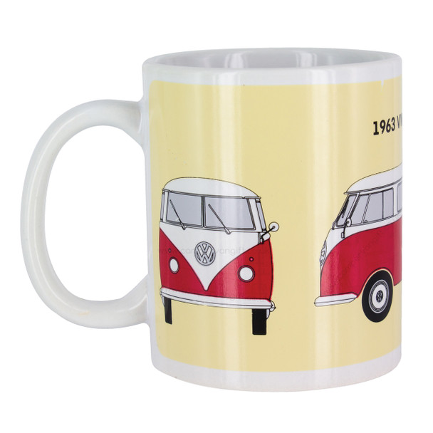 Volkswagen Campervan Heat Change Mug - Cold