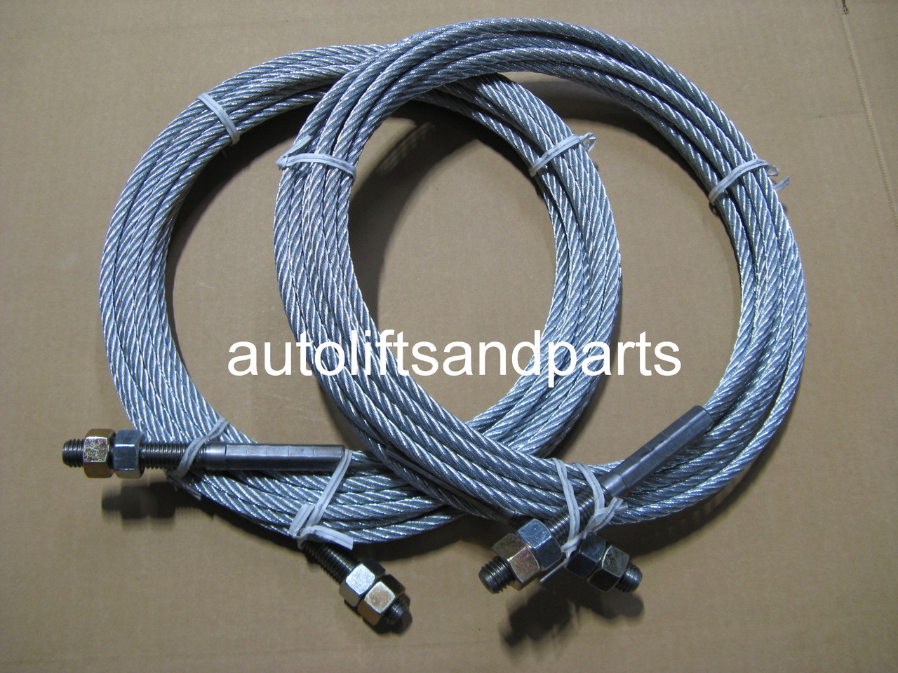 JSJ5-04-00CH Equalizer Cables Pair (2) for Challenger E-10 Lift