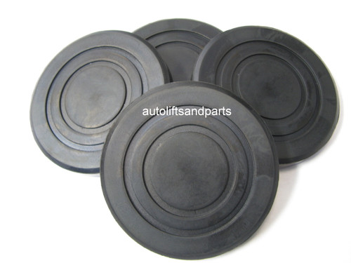 B2208 Rubber Arm Pad for Challenger Lift / Quality Lift Set of 4