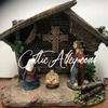 Celtic Nativity Set With LED