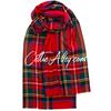 Extra Fine Merino Wool Stole In Stewart Royal