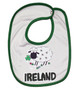 Sheep Ireland Baby Bib in White (ONE SIZE)