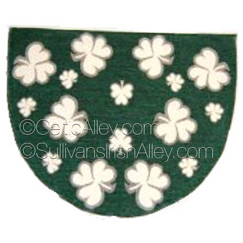 Shamrock Slice Rug For Your Home or Outdoors ON SALE (BOE242)