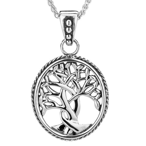 TREE OF LIFE PENDANT SMALL in Sterlinag Silver By KEITH JACK PPS6637