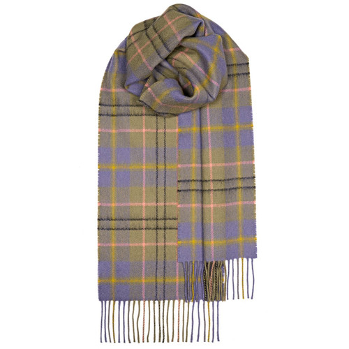 TAYLOR ANCIENT TARTAN LAMBSWOOL SCARF Made in Scotland